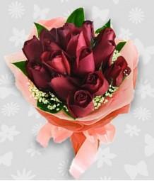 1 Dozen Ecuadorian Red Roses