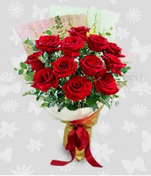 1 Dozen Red Rose
