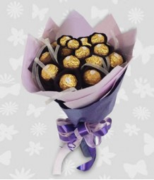 Ferrero in a bouquet